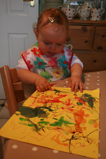 A Recipe for Baby Art
