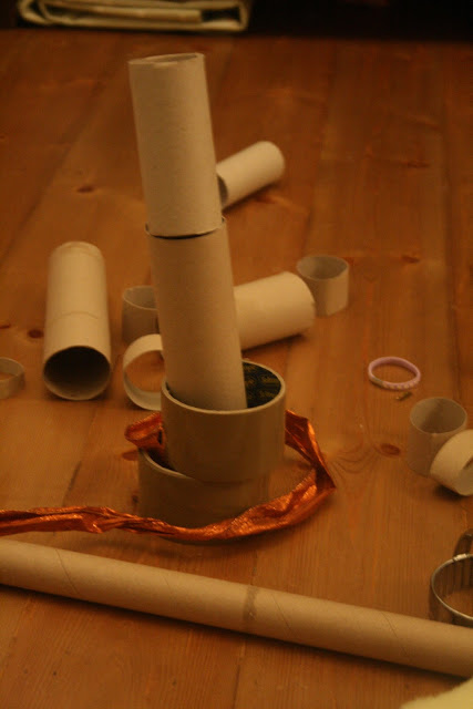 Yarn Wrap Sheep Craft for Kids
