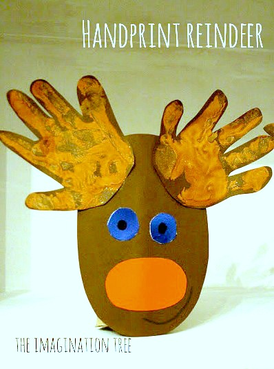 Handprint-Cardboard-Roll-Rudolph-Craft