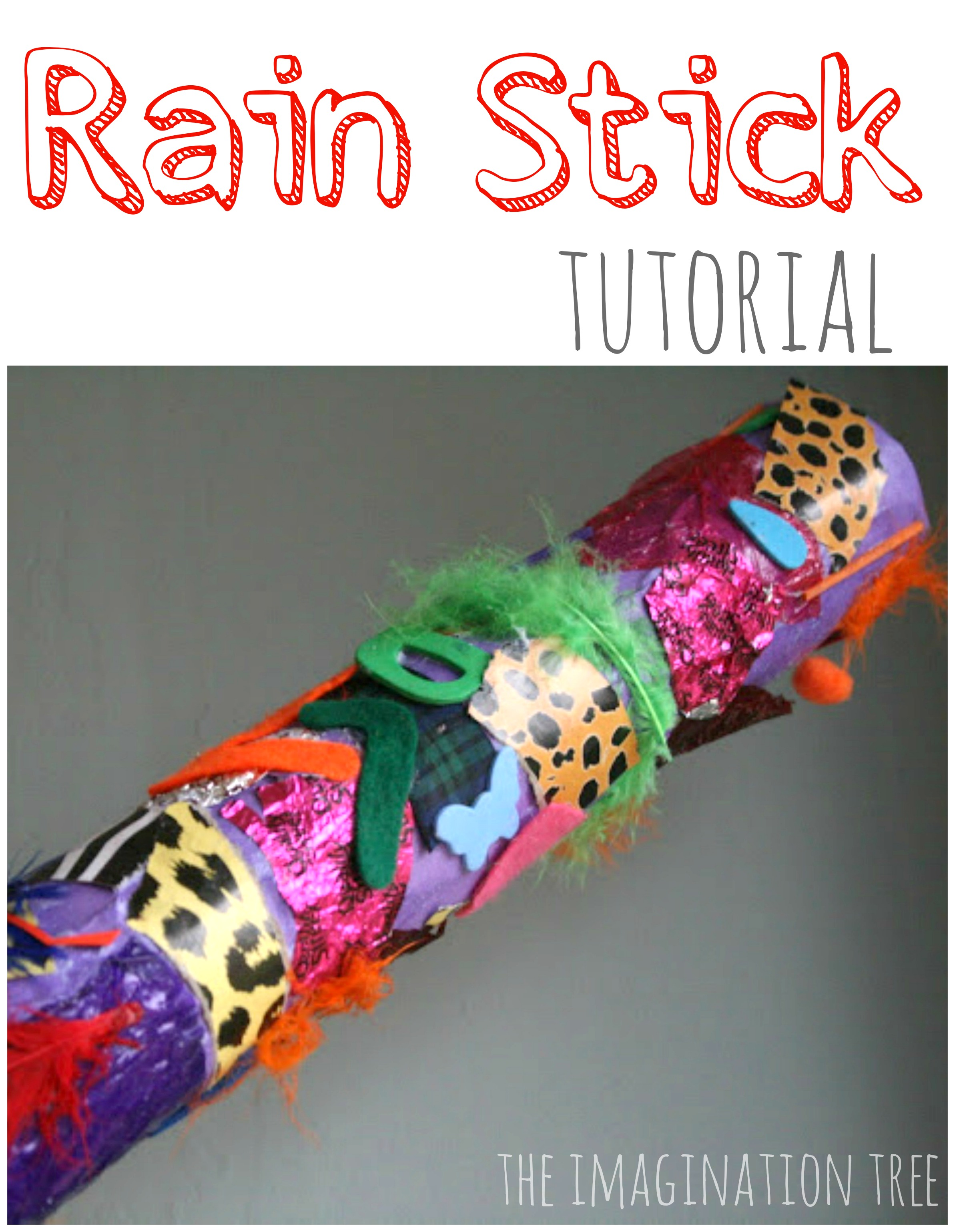 Preschool rain stick craft - Diy Rainstick Tutorial