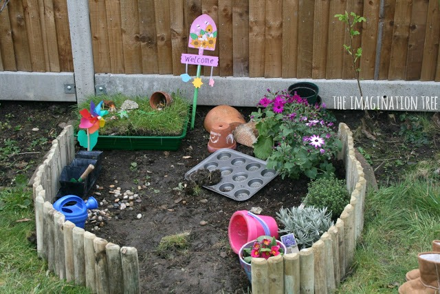 A play garden for children