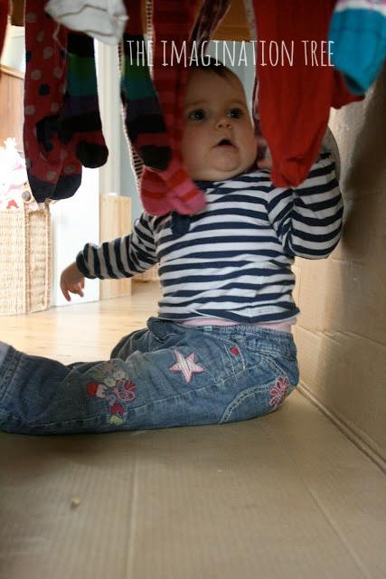 Baby sensory tunnel