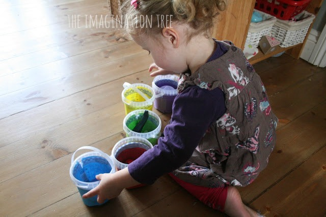 Collecting colours activity