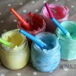 Homemade Edible Finger Paint Recipe