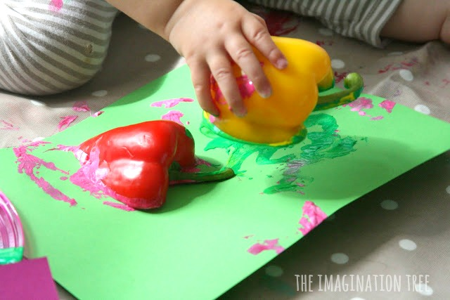 Printing with peppers