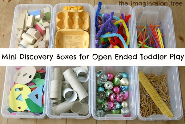 Mini Discovery Boxes For Open Ended Play The Imagination
