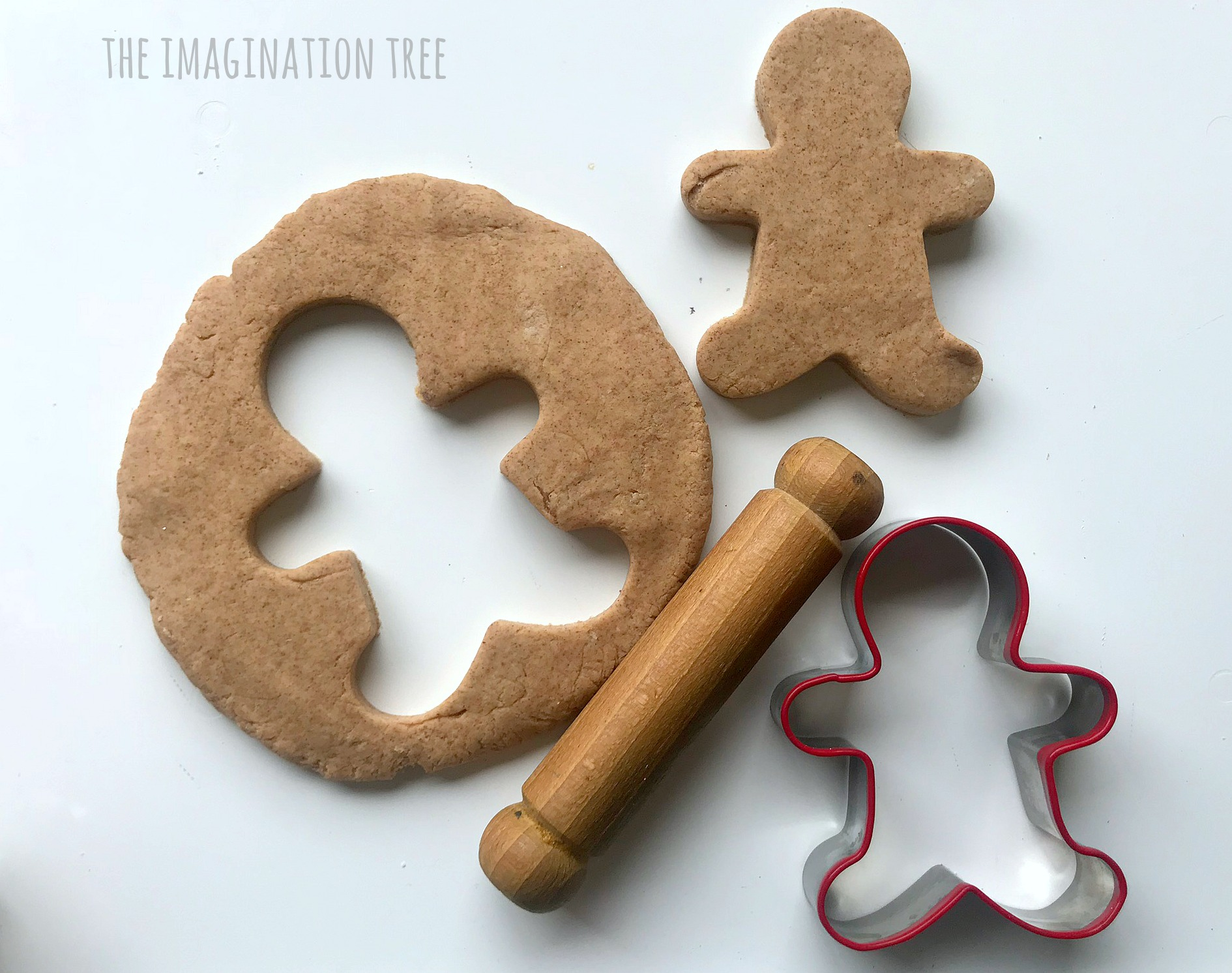 `gingerbread play dough recipe