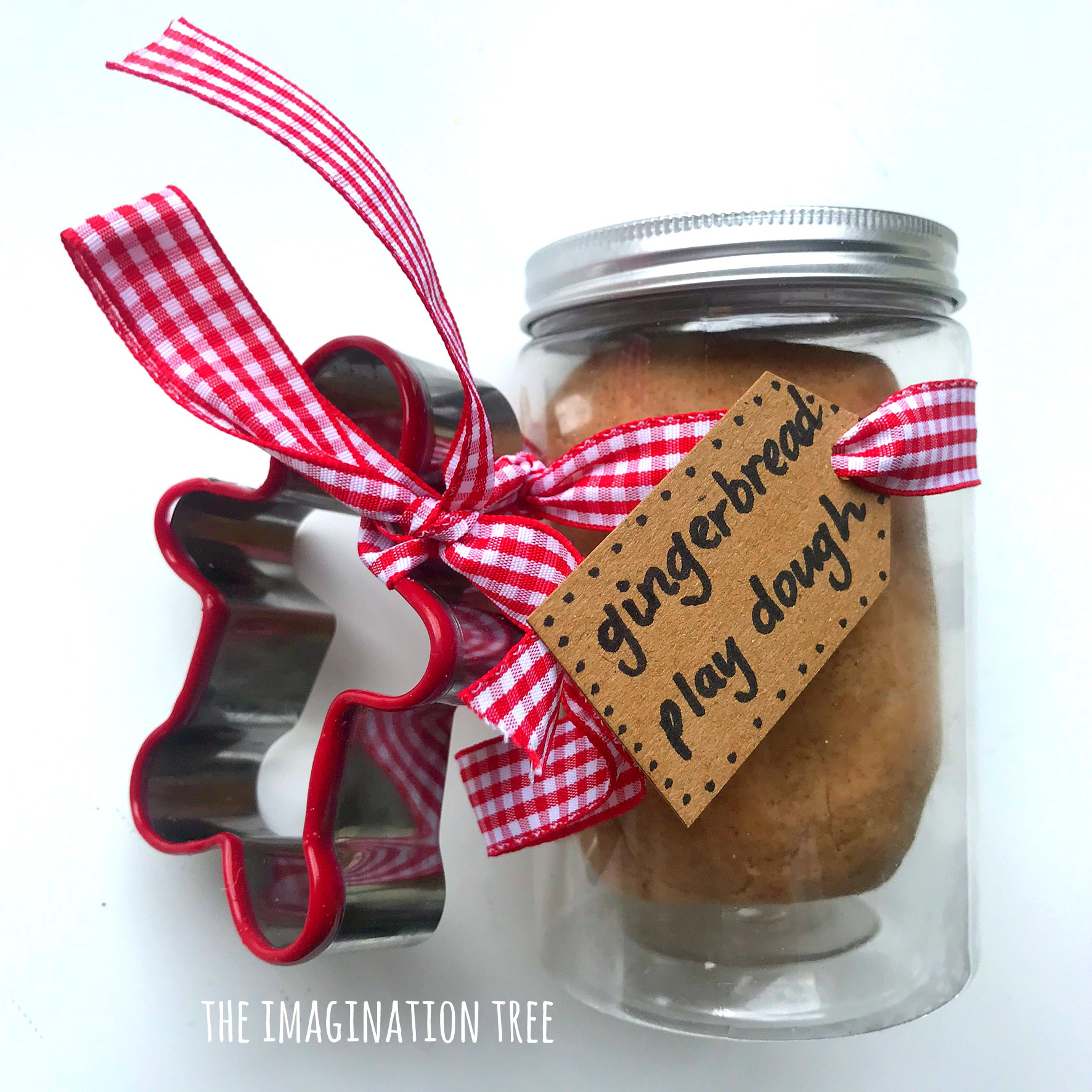 Gingerbread Play Dough Recipe- perfect for gifts!