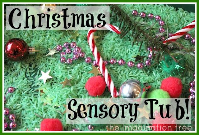Christmas Sensory Tub