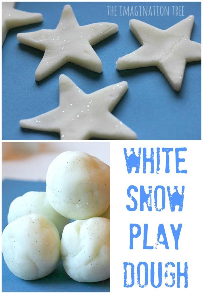 Recipe for White Play Dough