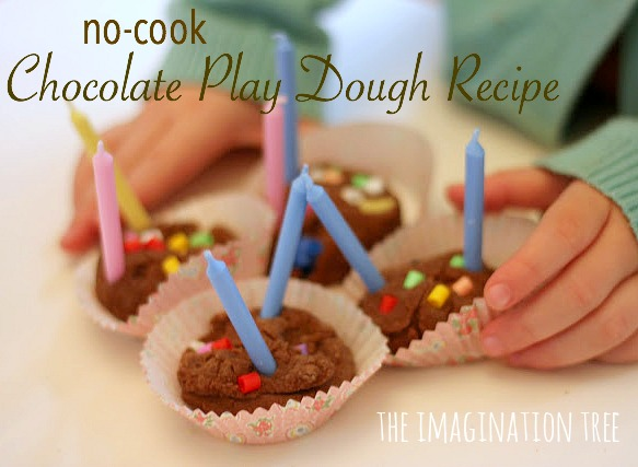 chocolate no-cook play dough recipe