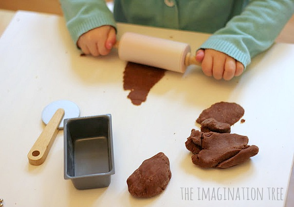 no cook chocolate playdough