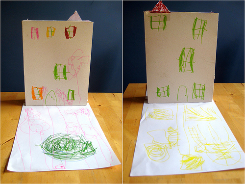 Make a house from a cereal box the imagination tree cardboard box house fandeluxe Images