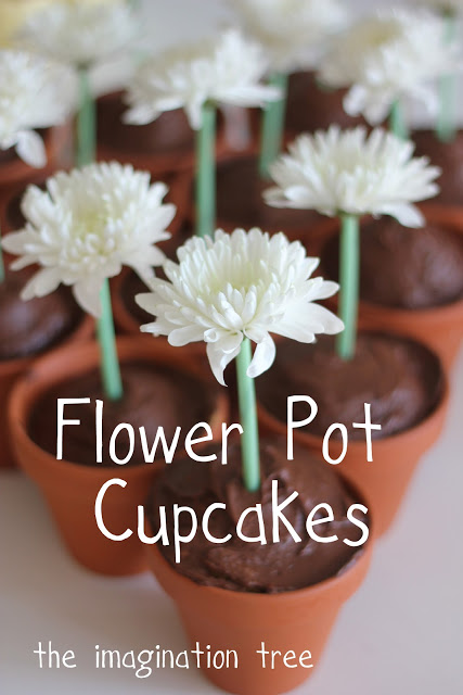 I Was Genuinely Excited When Thought Of The Idea To Cook Cupcakes In Flower Pots Match Our Garden Themeonly Discover That Course