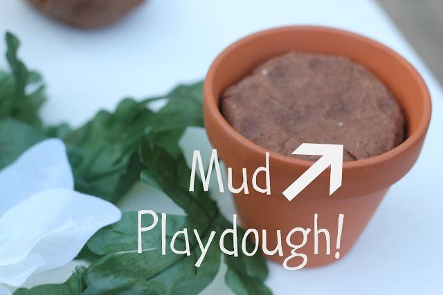 how to make mud play dough