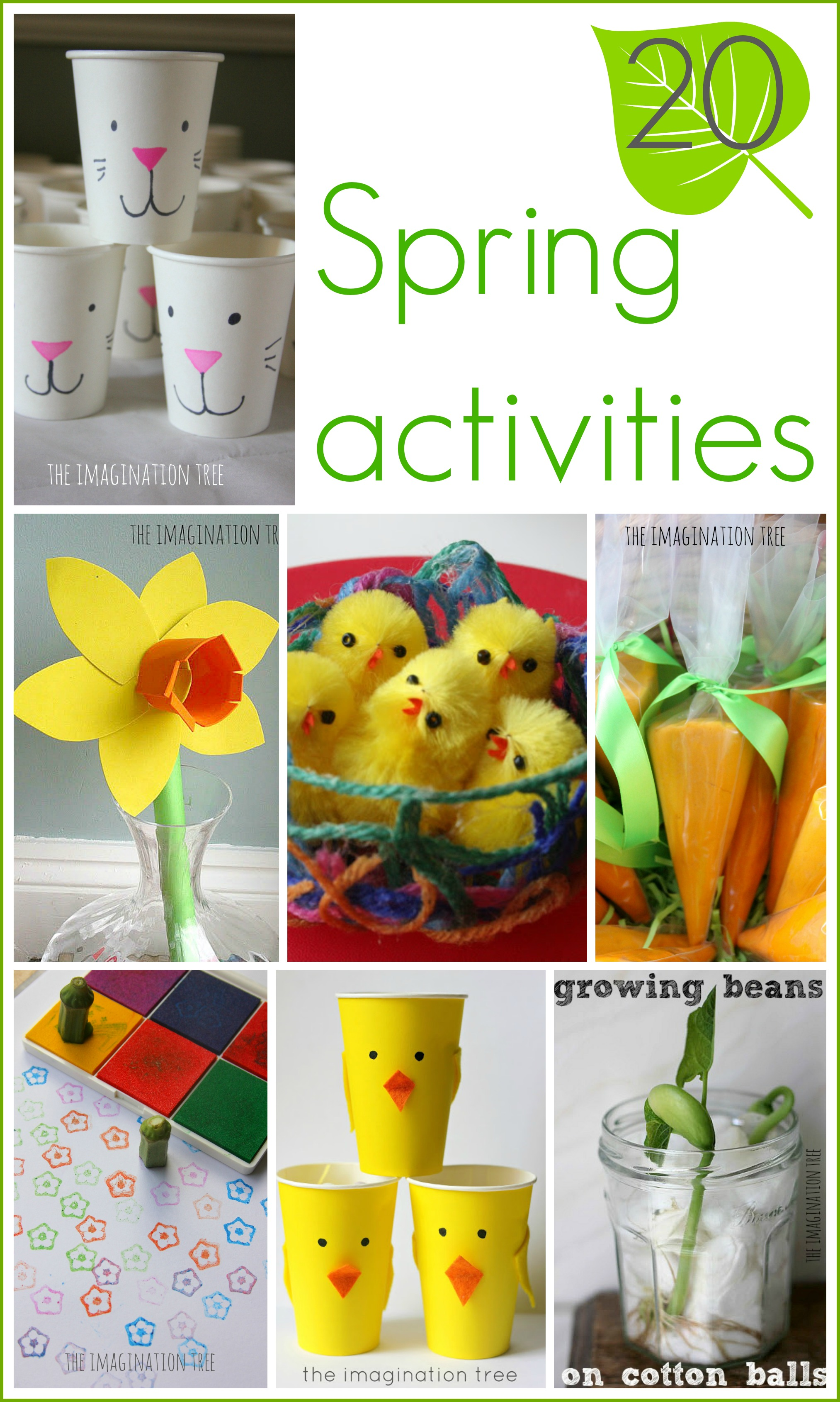 Spring Activities And Crafts For Kids on plant life cycle poem