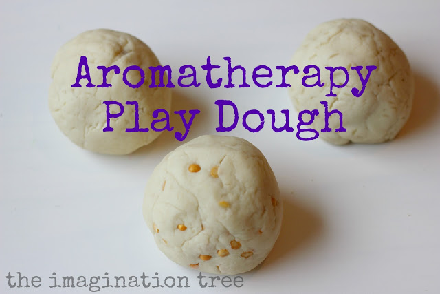 aromatherapy play dough