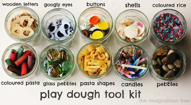 play dough tool kit ideas