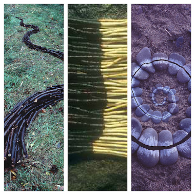 andy goldsworthy natural land art sculptures