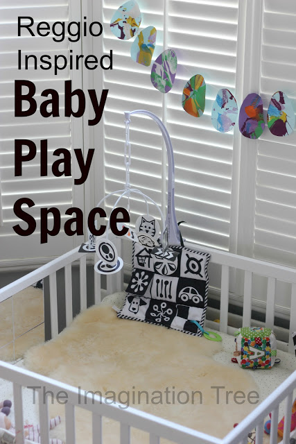 baby place area inspired by reggio emilia