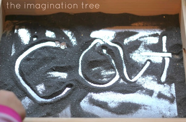 Sensory writing in magical moon dust