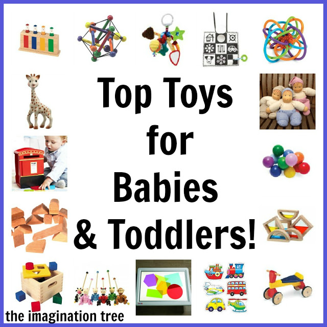 Best Toys 2012 : Top toy list for babies and toddlers the imagination tree