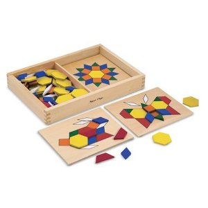 Pattern Blocks and Boards Top Toy List for 2-6 Year Olds! - The Imagination Tree
