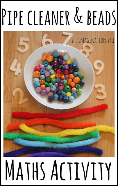 Counting with Beads and Pipe Cleaners Maths Activity