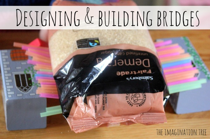 Designing and building a bridge with kids
