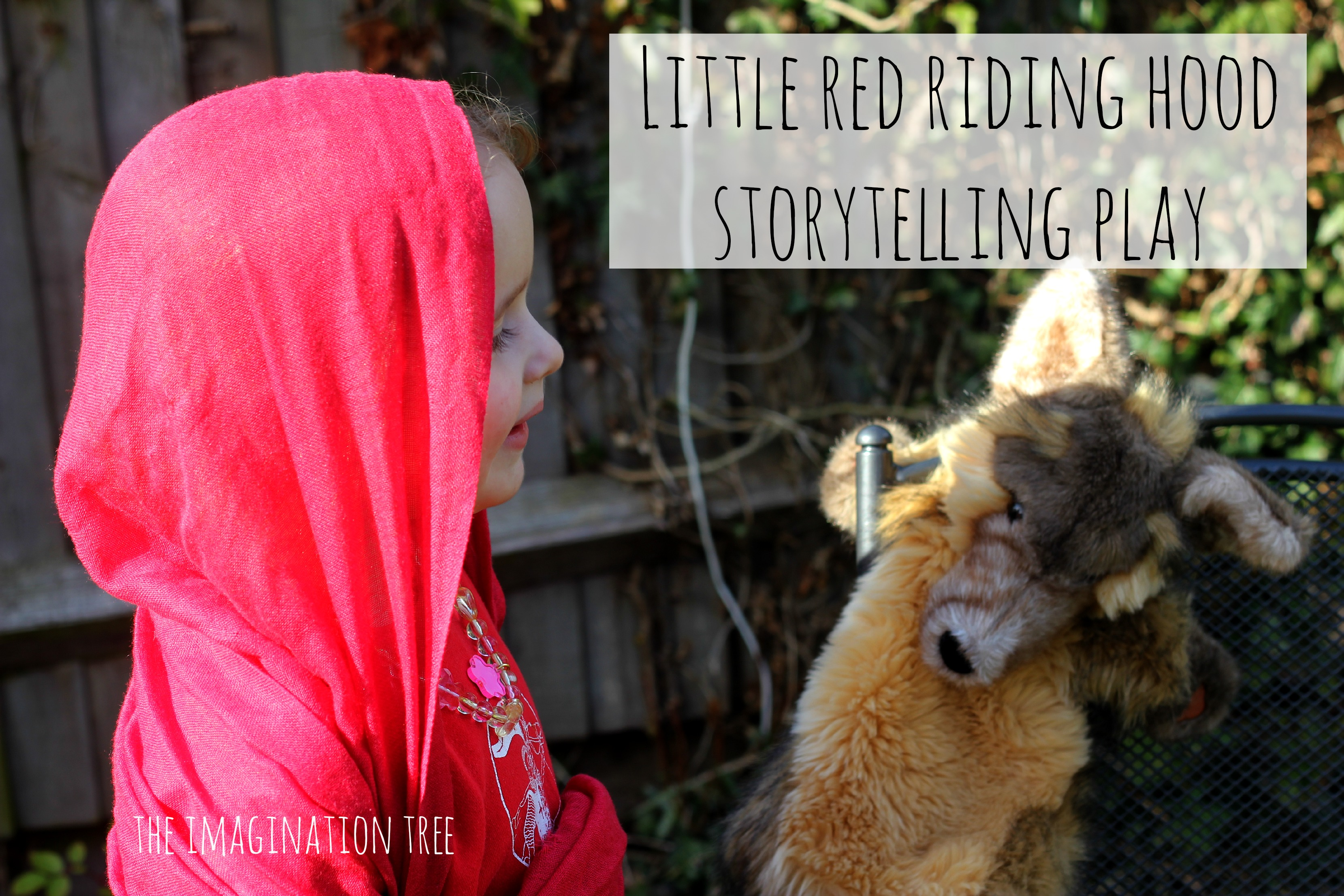 Little Red Riding Hood Storytelling Dramatic Play The