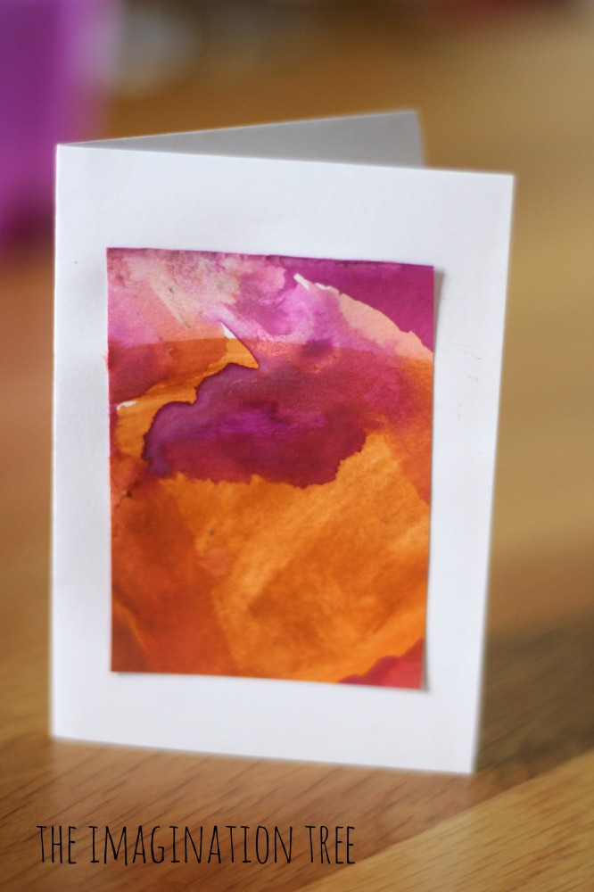 Mini-Masterpiece Thank You Cards