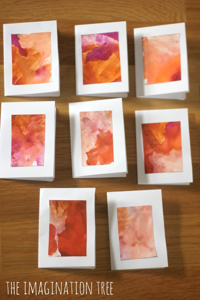 Mini Masterpieces Thank You Cards