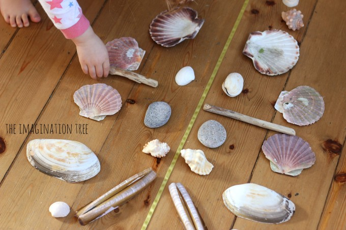 Symmetry and pattern making with shells