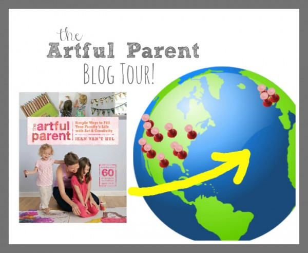 artful parent book tour logo