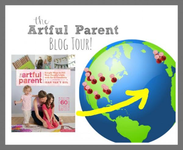 artful parent book tour logo