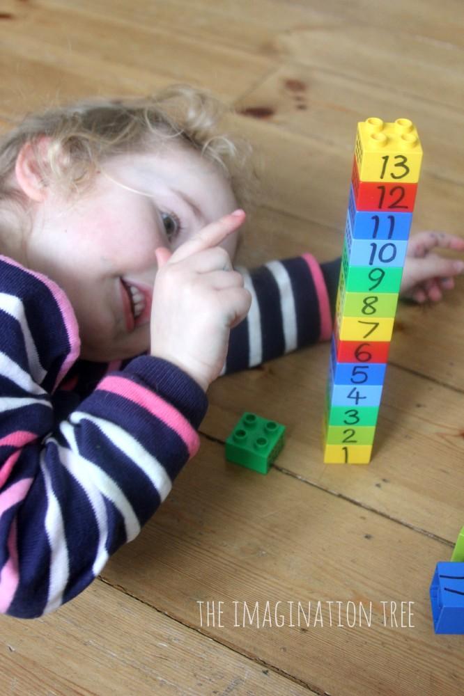 Counting lego blocks
