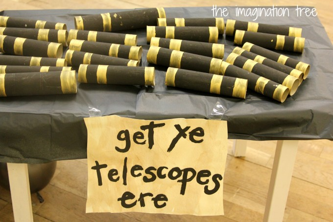 diy pirate telescopes