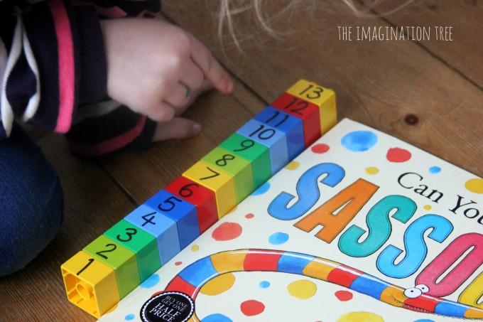 Measuring with lego blocks