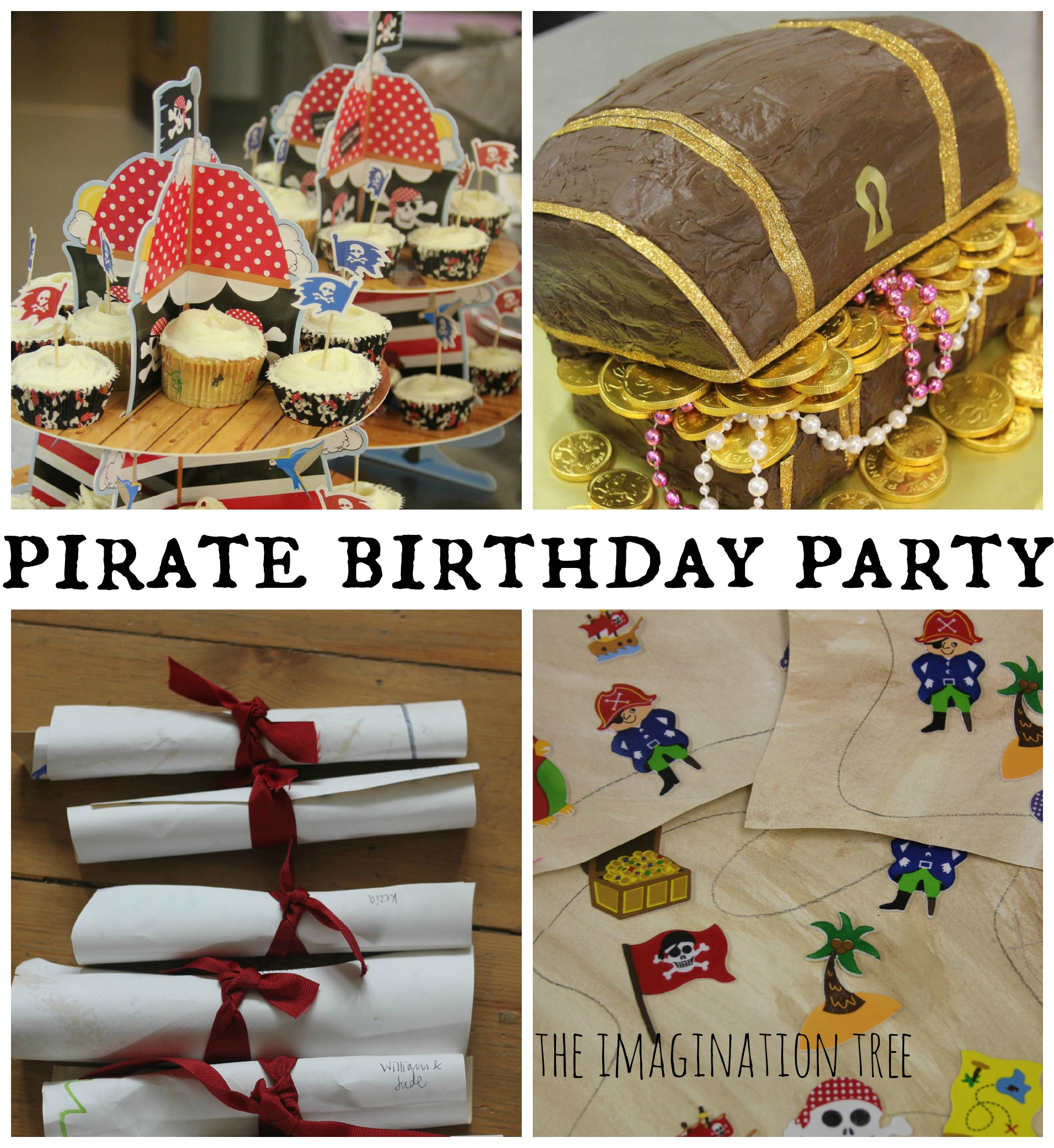 Pirate Birthday Party The Imagination Tree