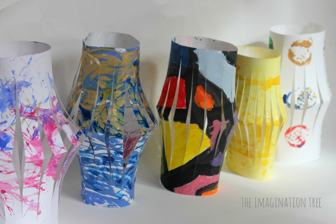 Children's art lanterns