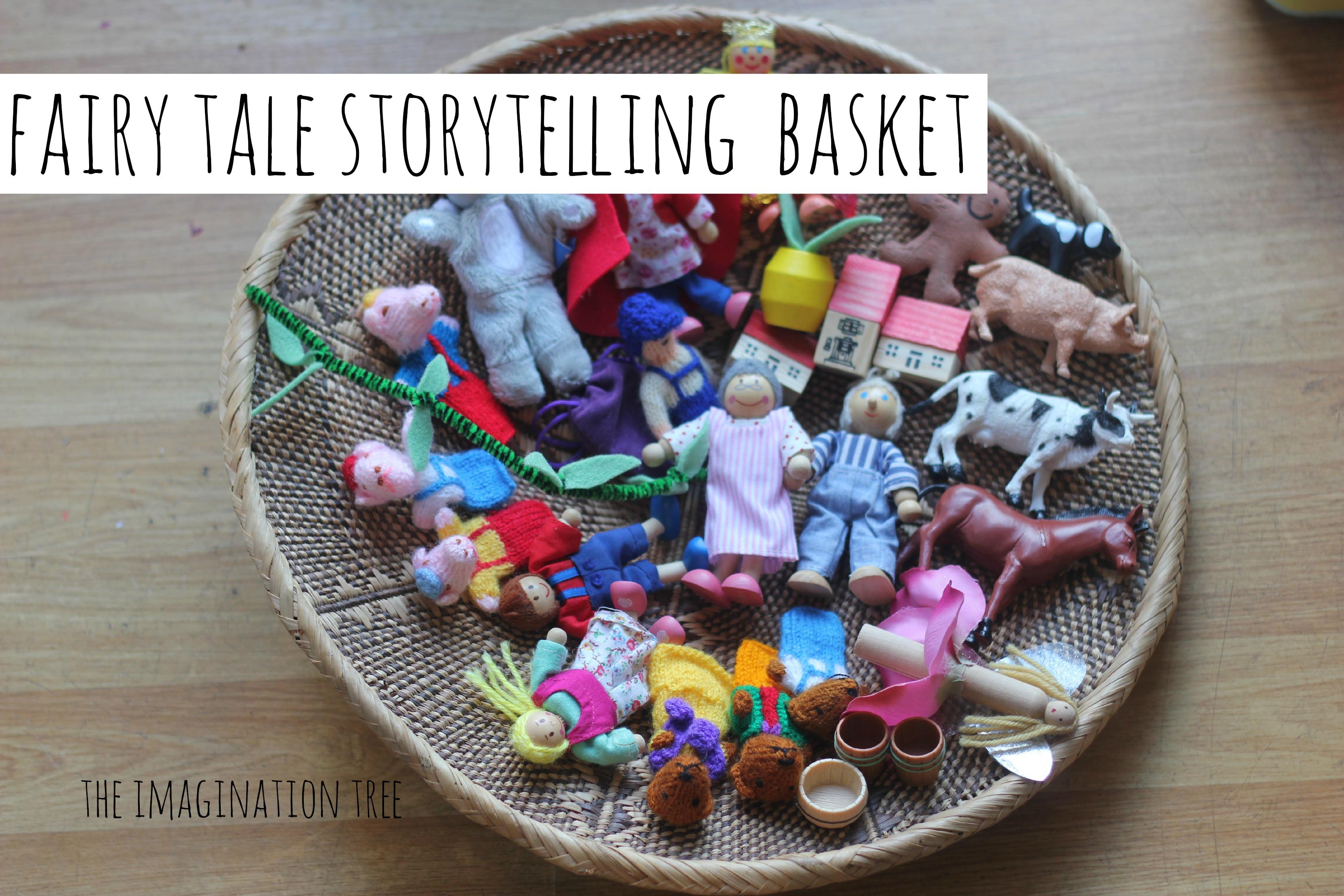 Fairytale Storytelling Basket - The Imagination Tree