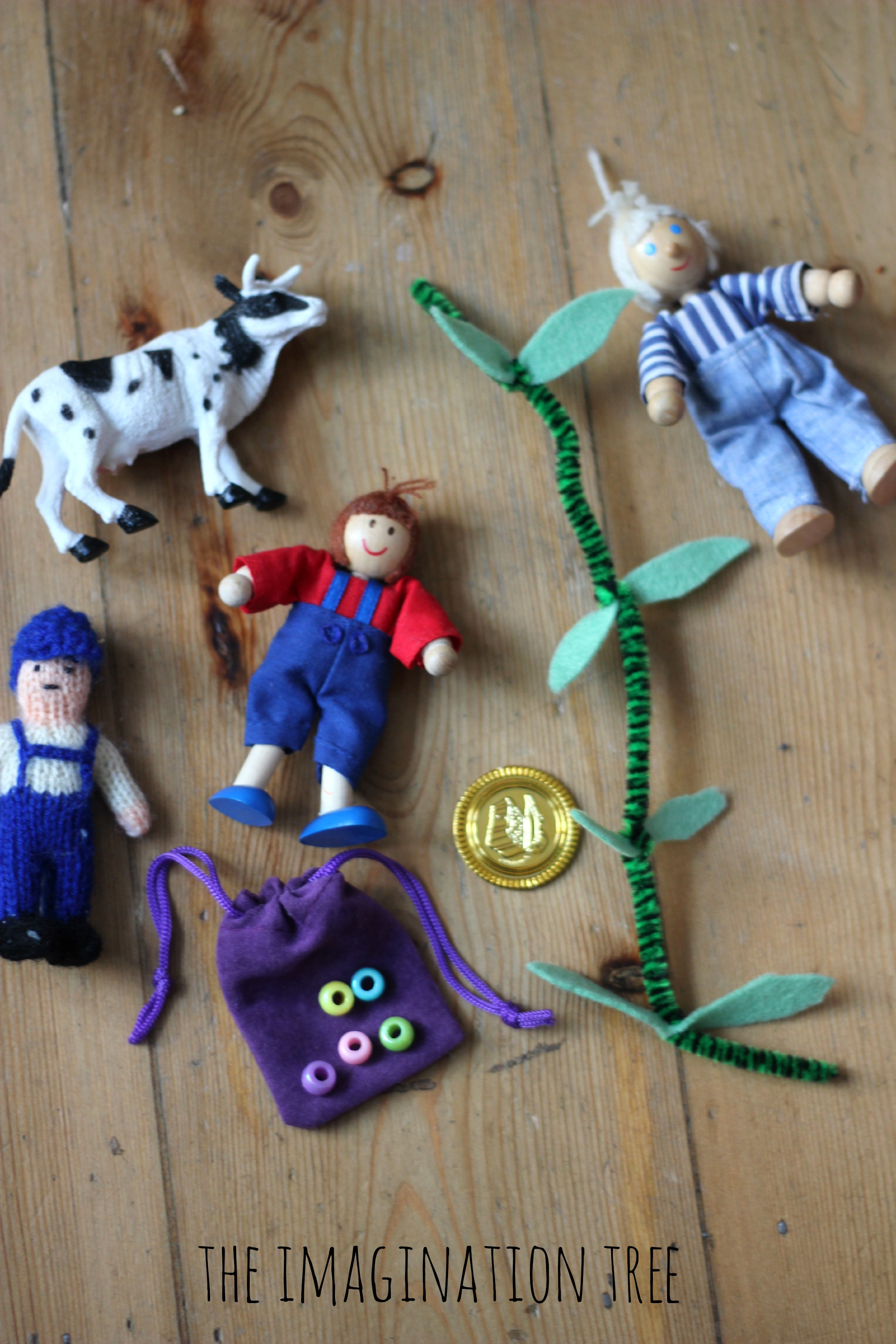 jack and the beanstalk story props