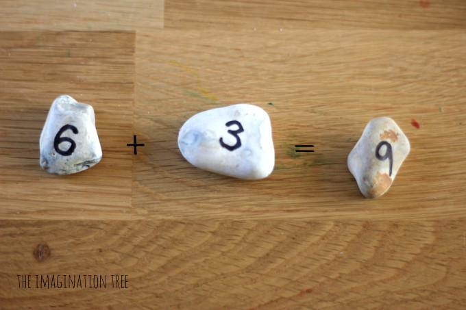 addition with number rocks
