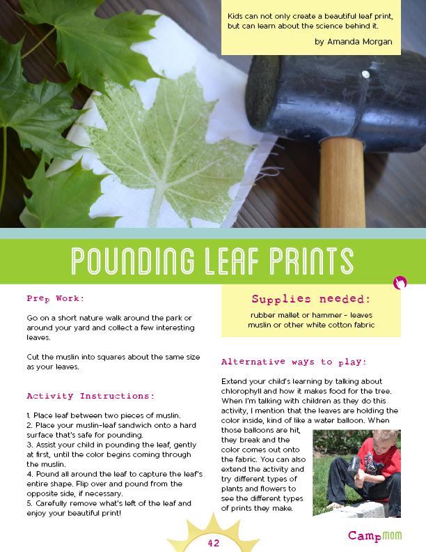 leaf-pounding