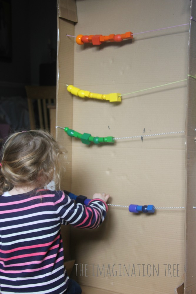 Counting and adding with a giant abacus