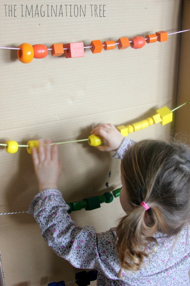 Counting with a giant abacus