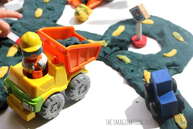 Play dough construction