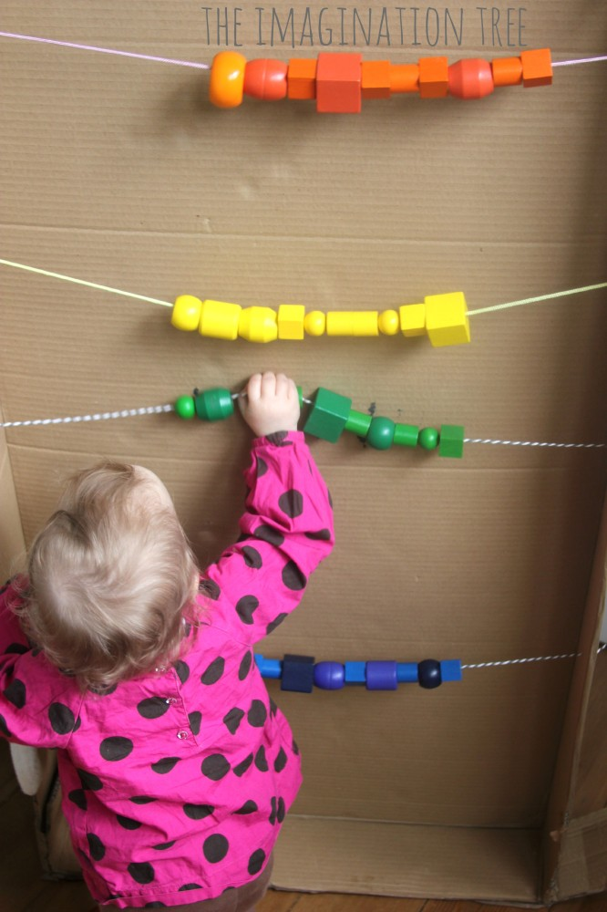 Playing with a giant abacus