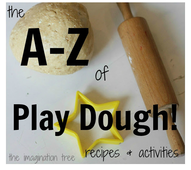 A-Z collection of play dough recipes and activities