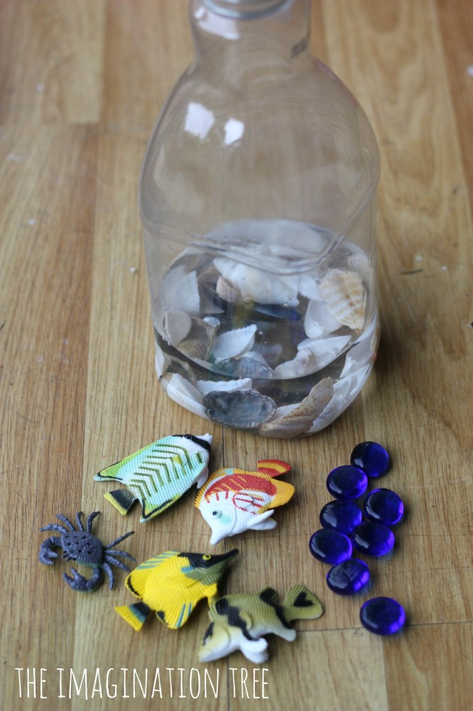 How to make an ocean discovery bottle